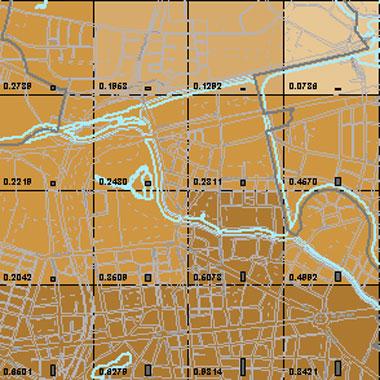 Vorschaugrafik zu Datensatz 'Entwicklung Luftqualität PM10-Emissionen Kfz-Verkehr NN 2009 (Umweltatlas)'