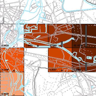 Vorschaugrafik zu Datensatz 'Entwicklung Luftqualität PM2,5-Emissionen Industrie 2008 (Umweltatlas)'