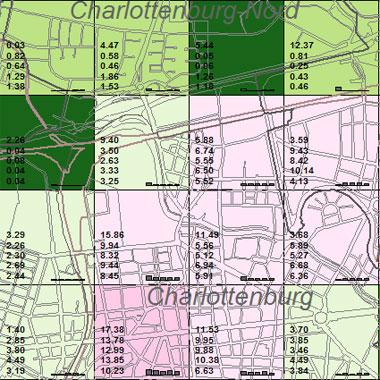 Vorschaugrafik zu Datensatz 'Entwicklung Luftqualität NOx-Emissionen Hausbrand 1994 (Umweltatlas)'