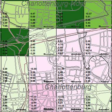 Vorschaugrafik zu Datensatz 'Entwicklung Luftqualität NOx-Emissionen Hausbrand 2002 (Umweltatlas)'